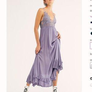 NWT Free People Adella Maxi Slip Dress